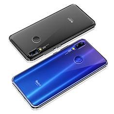Xiaomi Redmi Note 7 Pro用極薄ソフトケース シリコンケース 耐衝撃 全面保護 クリア透明 T09 Xiaomi クリア