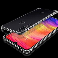 Xiaomi Redmi Note 7 Pro用極薄ソフトケース シリコンケース 耐衝撃 全面保護 クリア透明 H01 Xiaomi クリア