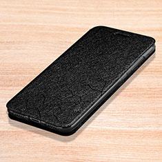 Xiaomi Redmi Note 7 Pro用手帳型 レザーケース スタンド カバー L01 Xiaomi ブラック