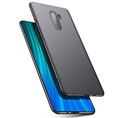 Xiaomi Redmi Note 8 Pro用ハードケース プラスチック 質感もマット カバー P03 Xiaomi ダークグレー