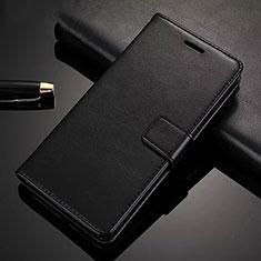 Xiaomi Redmi Note 8 Pro用手帳型 レザーケース スタンド カバー Xiaomi ブラック