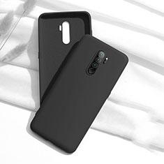 Xiaomi Redmi Note 8 Pro用360度 フルカバー極薄ソフトケース シリコンケース 耐衝撃 全面保護 バンパー S01 Xiaomi ブラック