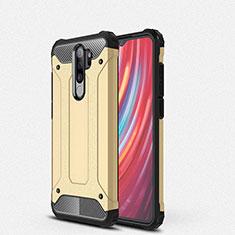 Xiaomi Redmi Note 8 Pro用ハイブリットバンパーケース プラスチック 兼シリコーン カバー Xiaomi ゴールド