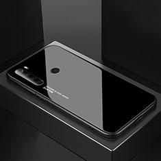 Xiaomi Redmi Note 8T用ハイブリットバンパーケース プラスチック 鏡面 カバー Xiaomi ブラック