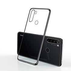 Xiaomi Redmi Note 8T用極薄ソフトケース シリコンケース 耐衝撃 全面保護 クリア透明 H02 Xiaomi ブラック