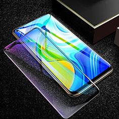 Xiaomi Redmi Note 9用強化ガラス フル液晶保護フィルム アンチグレア ブルーライト F02 Xiaomi ブラック