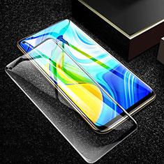 Xiaomi Redmi Note 9用強化ガラス フル液晶保護フィルム F02 Xiaomi ブラック
