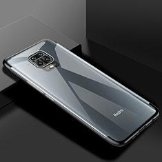 Xiaomi Redmi Note 9 Pro用極薄ソフトケース シリコンケース 耐衝撃 全面保護 クリア透明 S01 Xiaomi ブラック