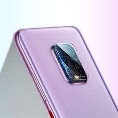 Xiaomi Redmi Note 9S用強化ガラス カメラプロテクター カメラレンズ 保護ガラスフイルム C02 Xiaomi クリア