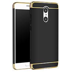 Xiaomi Redmi Pro用ケース 高級感 手触り良い メタル兼プラスチック バンパー M01 Xiaomi ブラック