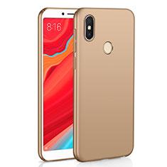 Xiaomi Redmi S2用ハードケース プラスチック 質感もマット M01 Xiaomi ゴールド