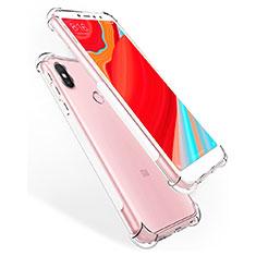Xiaomi Redmi S2用極薄ソフトケース シリコンケース 耐衝撃 全面保護 クリア透明 カバー Xiaomi クリア