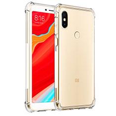 Xiaomi Redmi S2用極薄ソフトケース シリコンケース 耐衝撃 全面保護 クリア透明 T03 Xiaomi クリア