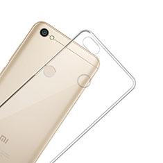 Xiaomi Redmi Y1用極薄ソフトケース シリコンケース 耐衝撃 全面保護 クリア透明 カバー Xiaomi クリア