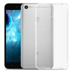 Xiaomi Redmi Y1用極薄ソフトケース シリコンケース 耐衝撃 全面保護 クリア透明 Xiaomi クリア