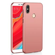 Xiaomi Redmi Y2用ハードケース プラスチック 質感もマット M01 Xiaomi ローズゴールド