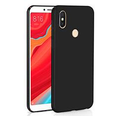 Xiaomi Redmi Y2用ハードケース プラスチック 質感もマット M01 Xiaomi ブラック