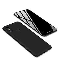 Xiaomi Redmi Y2用極薄ソフトケース シリコンケース 耐衝撃 全面保護 S03 Xiaomi ブラック
