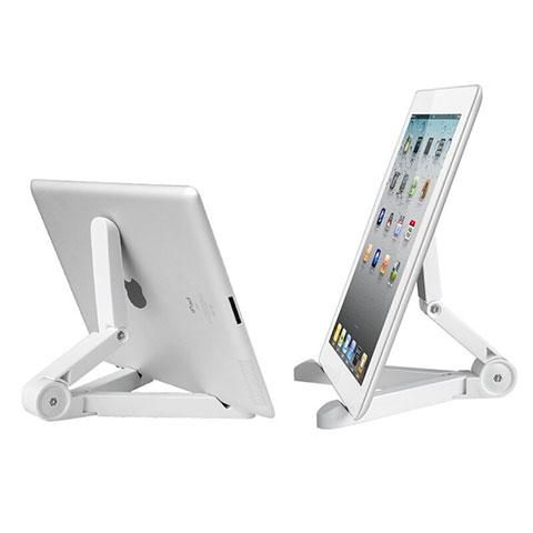 Apple iPad 2用スタンドタイプのタブレット ホルダー ユニバーサル T23 アップル ホワイト