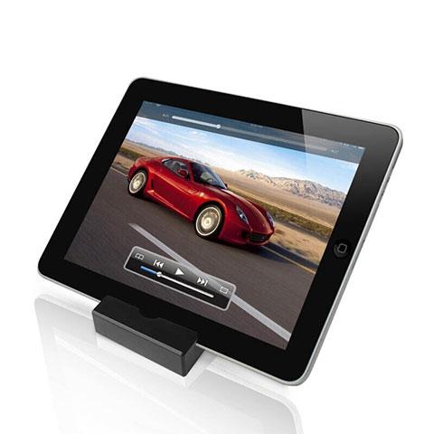 Apple iPad 2用スタンドタイプのタブレット ホルダー ユニバーサル T26 アップル ブラック