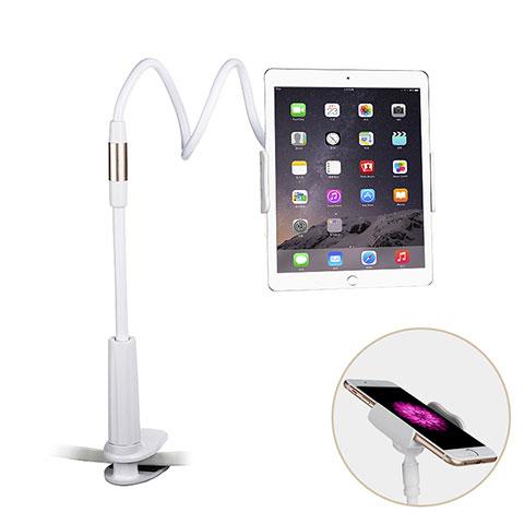Apple iPad 2用スタンドタイプのタブレット クリップ式 フレキシブル仕様 T29 アップル ホワイト