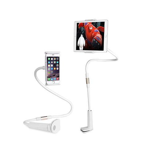 Apple iPad 2用スタンドタイプのタブレット クリップ式 フレキシブル仕様 T30 アップル ホワイト