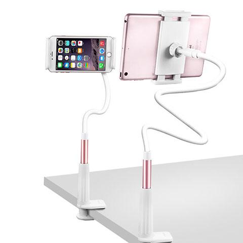 Apple iPad 2用スタンドタイプのタブレット クリップ式 フレキシブル仕様 T33 アップル ローズゴールド
