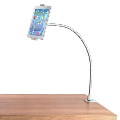 Apple iPad 2用スタンドタイプのタブレット クリップ式 フレキシブル仕様 T37 アップル ホワイト