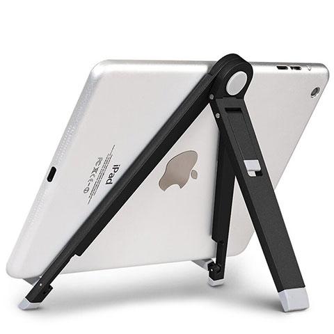 Apple iPad 4用スタンドタイプのタブレット ホルダー ユニバーサル アップル ブラック