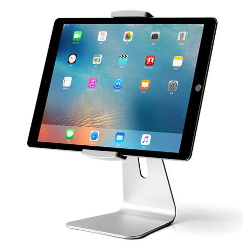 Apple iPad 4用スタンドタイプのタブレット ホルダー ユニバーサル T24 アップル シルバー