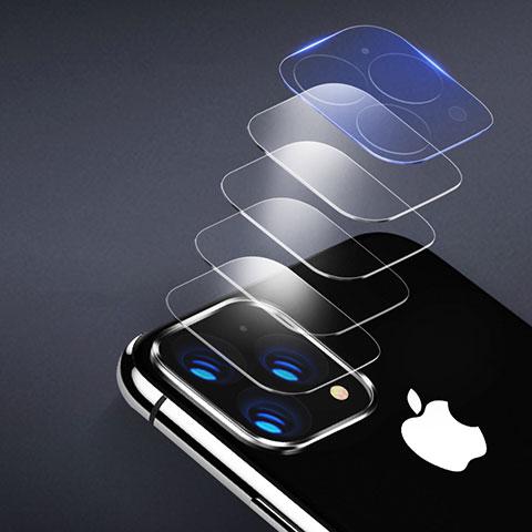 Apple iPhone 11 Pro用強化ガラス カメラプロテクター カメラレンズ 保護ガラスフイルム アップル クリア