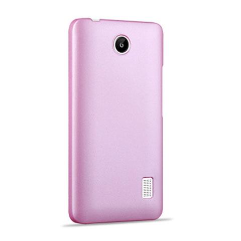 Huawei Ascend Y635 Dual SIM用ハードケース プラスチック 質感もマット ファーウェイ ピンク