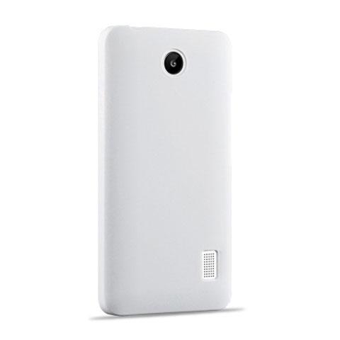 Huawei Ascend Y635 Dual SIM用ハードケース プラスチック 質感もマット ファーウェイ ホワイト