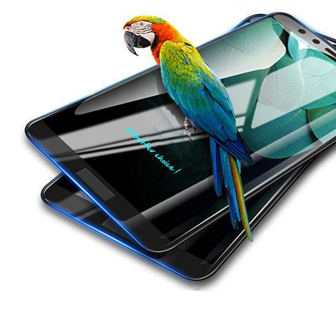 Huawei Honor 9 Lite用強化ガラス フル液晶保護フィルム ファーウェイ ブラック