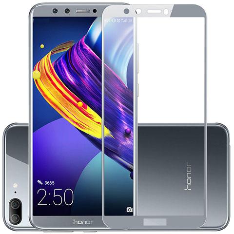Huawei Honor 9 Lite用強化ガラス フル液晶保護フィルム F03 ファーウェイ グレー