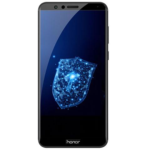 Huawei Honor Play 7X用強化ガラス フル液晶保護フィルム F03 ファーウェイ ブラック