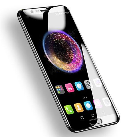 Huawei Honor V10用強化ガラス フル液晶保護フィルム F03 ファーウェイ ブラック