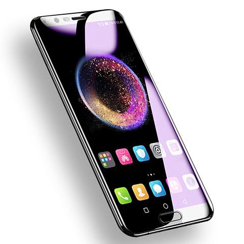 Huawei Honor View 10用アンチグレア ブルーライト 強化ガラス 液晶保護フィルム ファーウェイ ブラック