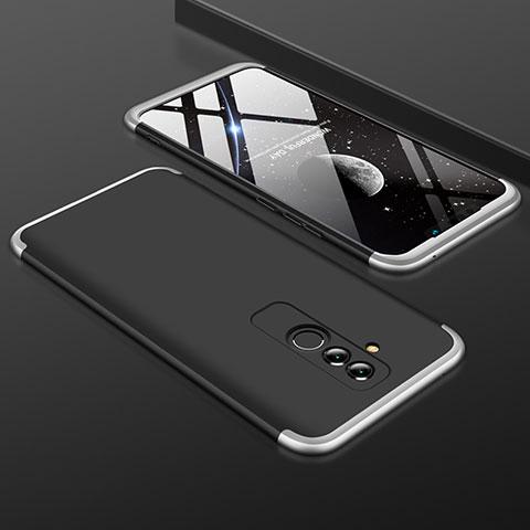 Huawei Mate 20 Lite用ハードケース プラスチック 質感もマット 前面と背面 360度 フルカバー ファーウェイ シルバー・ブラック