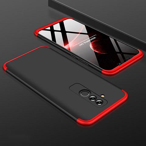 Huawei Mate 20 Lite用ハードケース プラスチック 質感もマット 前面と背面 360度 フルカバー ファーウェイ レッド・ブラック