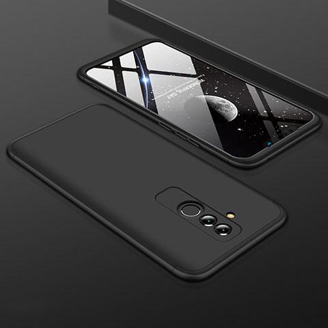 Huawei Mate 20 Lite用ハードケース プラスチック 質感もマット 前面と背面 360度 フルカバー ファーウェイ ブラック