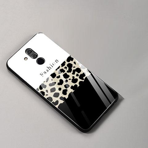 Huawei Mate 20 Lite用ハイブリットバンパーケース プラスチック パターン 鏡面 カバー ファーウェイ カラフル