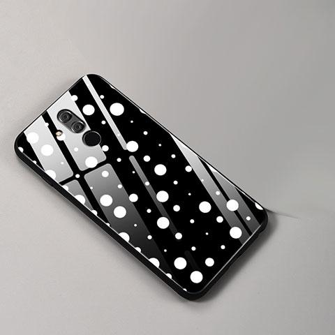 Huawei Mate 20 Lite用ハイブリットバンパーケース プラスチック パターン 鏡面 カバー ファーウェイ マルチカラー