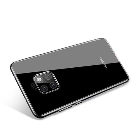 Huawei Mate 20 Pro用極薄ソフトケース シリコンケース 耐衝撃 全面保護 クリア透明 T02 ファーウェイ クリア