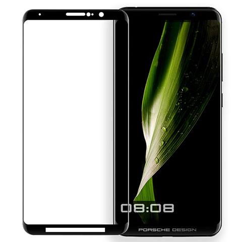Huawei Mate RS用強化ガラス フル液晶保護フィルム ファーウェイ ブラック
