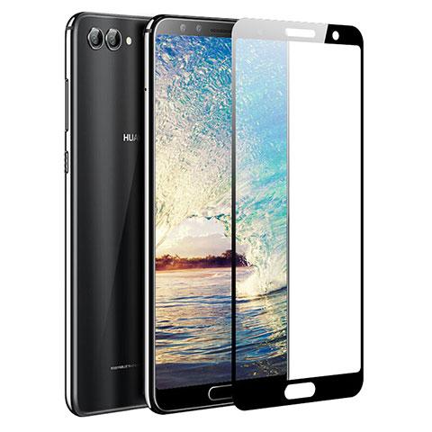Huawei Nova 2S用強化ガラス フル液晶保護フィルム ファーウェイ ブラック