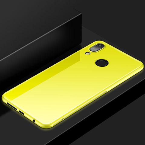 Huawei Nova 3e用極薄ソフトケース シリコンケース 耐衝撃 全面保護 S05 ファーウェイ イエロー