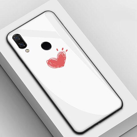 Huawei Nova 3e用ハイブリットバンパーケース プラスチック パターン 鏡面 カバー S04 ファーウェイ マルチカラー