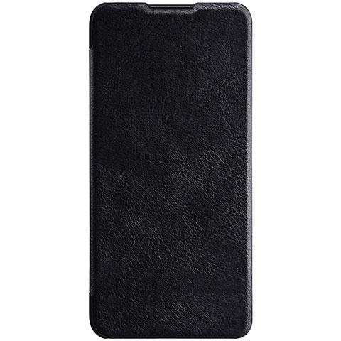 Huawei Nova 4e用手帳型 レザーケース スタンド カバー L03 ファーウェイ ブラック