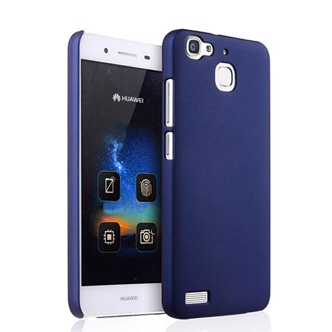 Huawei P8 Lite Smart用ハードケース プラスチック 質感もマット ファーウェイ ネイビー